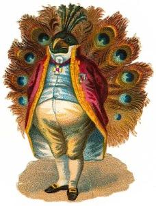 Victorian Peacock (scrapworkart.blogspot.com)