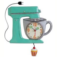 Kitchen Pendulum Clock (bechnutlane.blogspot.com)