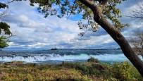 Niagara Falls - upstream view from Three Sisters 1