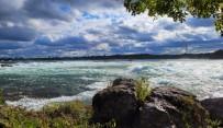 Niagara Falls - upstream view from Three Sisters 2