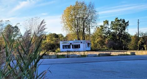 Old Diner off interstate 86