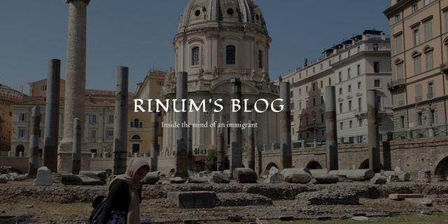 Rinum's Blog