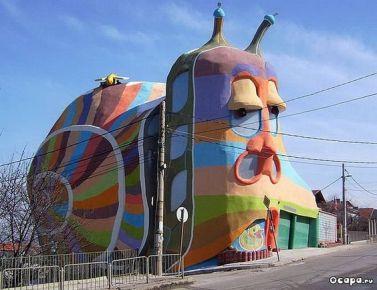 Snail House, Sofia, Bulgaria (pinterest.com)